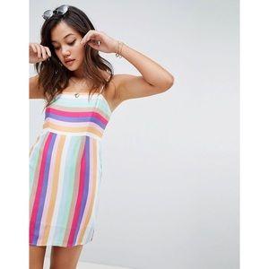 Dresses & Skirts - 🆕 Rainbow Print Cami Mini Dress